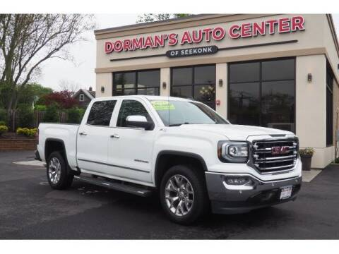 2017 GMC Sierra 1500 for sale at DORMANS AUTO CENTER OF SEEKONK in Seekonk MA