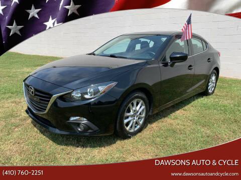 2016 Mazda MAZDA3 for sale at Dawsons Auto & Cycle in Glen Burnie MD