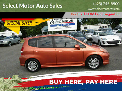2008 Honda Fit for sale at Select Motor Auto Sales in Lynnwood WA