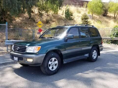 2000 Toyota Land Cruiser for sale at Gateway Motors in Hayward CA