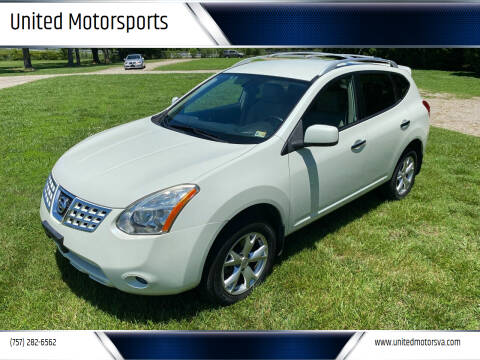 2010 Nissan Rogue for sale at United Motorsports in Virginia Beach VA