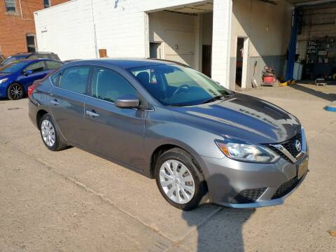 2017 Nissan Sentra for sale at Apex Auto Sales in Coldwater KS