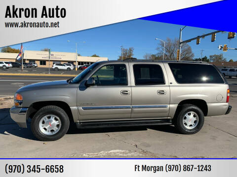 2002 GMC Yukon XL for sale at Akron Auto - Fort Morgan in Fort Morgan CO