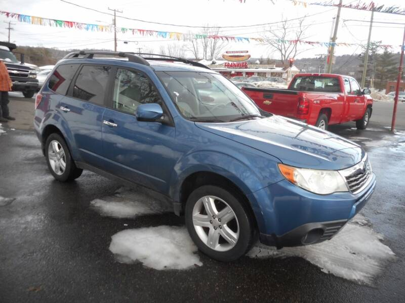 2010 Subaru Forester for sale at Ricciardi Auto Sales in Waterbury CT