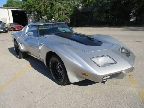 1977 Chevrolet Corvette for sale at RJ Motors in Plano IL
