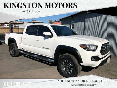 2017 Toyota Tacoma for sale at Kingston Motors in North Hollywood CA