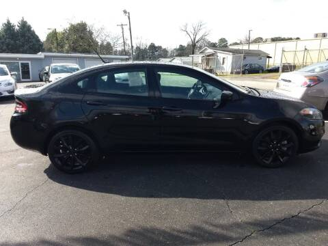 2016 Dodge Dart for sale at Kenny's Auto Sales Inc. in Lowell NC