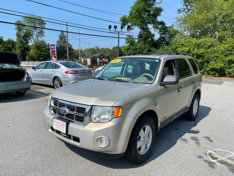 2011 Ford Escape for sale at Gia Auto Sales in East Wareham MA