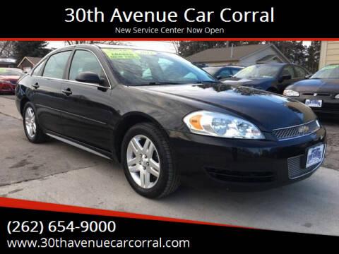 2012 Chevrolet Impala for sale at 30th Avenue Car Corral in Kenosha WI