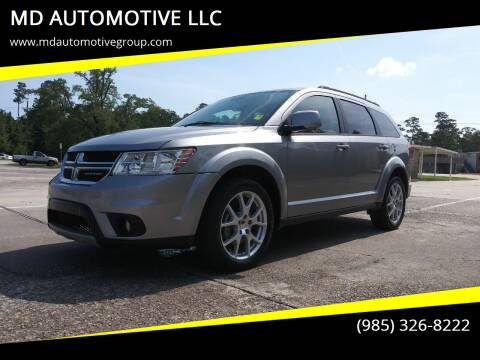 2017 Dodge Journey for sale at MD AUTOMOTIVE LLC in Slidell LA