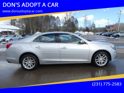 2013 Chevrolet Malibu for sale at DON'S ADOPT A CAR in Cadillac MI