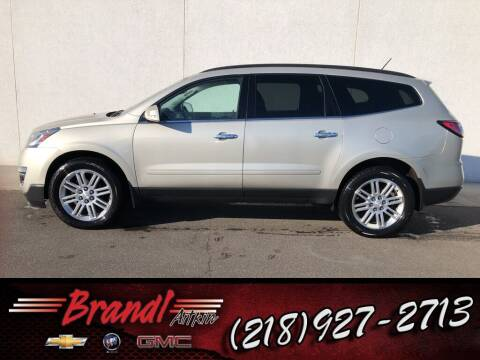 2015 Chevrolet Traverse for sale at Brandl GM in Aitkin MN