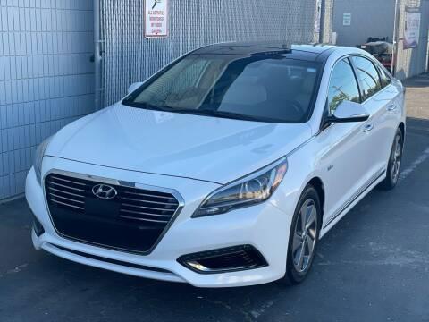 2016 Hyundai Sonata Hybrid for sale at Z Auto in Sacramento CA
