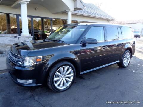 2014 Ford Flex for sale at DEALS UNLIMITED INC in Portage MI