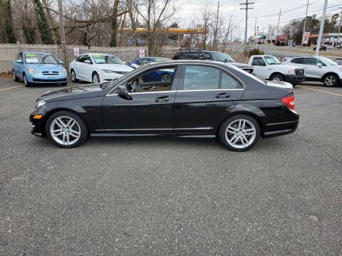 2013 Mercedes-Benz C-Class for sale at CANDOR INC in Toms River NJ
