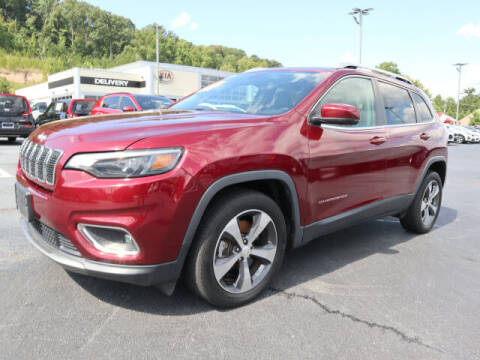 2019 Jeep Cherokee for sale at RUSTY WALLACE KIA OF KNOXVILLE in Knoxville TN