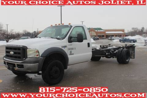 2006 Ford F-550 Super Duty for sale at Your Choice Autos - Joliet in Joliet IL