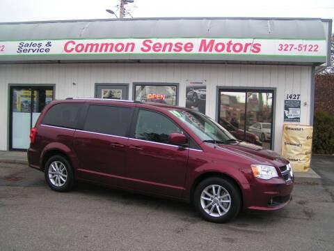 2019 Dodge Grand Caravan for sale at Common Sense Motors in Spokane WA