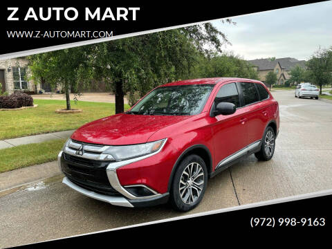 2016 Mitsubishi Outlander for sale at Z AUTO MART in Lewisville TX