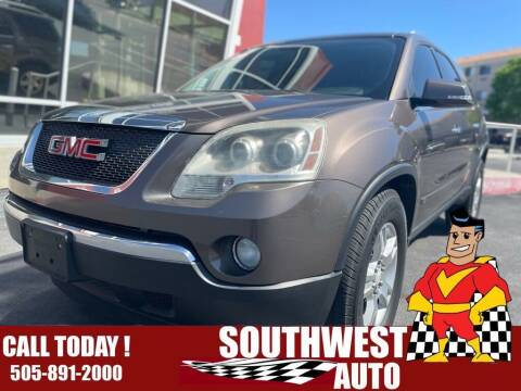 2009 GMC Acadia for sale at SOUTHWEST AUTO in Albuquerque NM