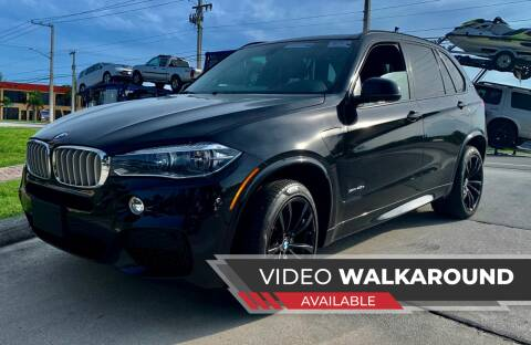 2017 BMW X5 for sale at AUTOSPORT MOTORS in Lake Park FL