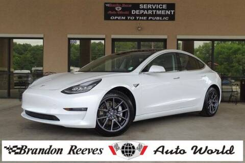 2019 Tesla Model 3 for sale at Brandon Reeves Auto World in Monroe NC