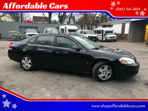 2008 Chevrolet Impala for sale at Affordable Cars in Kingston NY