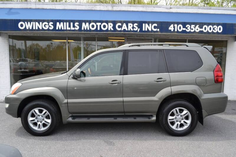 2006 Lexus GX 470 for sale at Owings Mills Motor Cars in Owings Mills MD