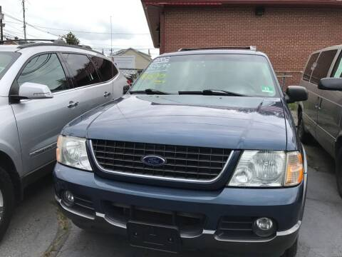 2002 Ford Explorer for sale at Chambers Auto Sales LLC in Trenton NJ