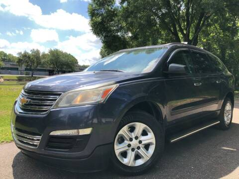2013 Chevrolet Traverse for sale at Powerhouse Automotive in Tampa FL