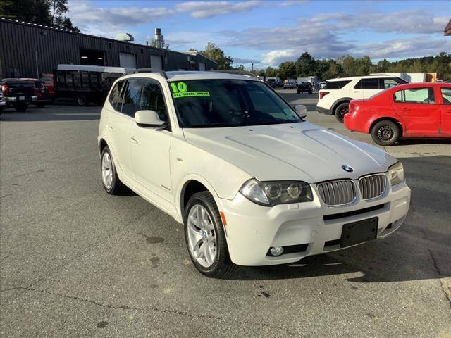 2010 BMW X3 for sale at SHAKER VALLEY AUTO SALES in Enfield NH