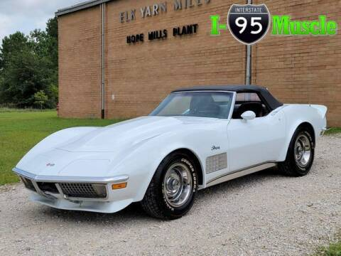 1971 Chevrolet Corvette for sale at I-95 Muscle in Hope Mills NC