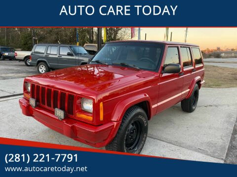 1998 Jeep Cherokee for sale at AUTO CARE TODAY in Spring TX