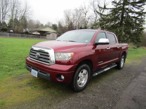 2007 Toyota Tundra for sale at ARISTA CAR COMPANY LLC in Portland OR