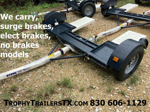 2021 STEHL TOW DOLLY -ELECTRIC BRAKE for sale at Trophy Trailers in New Braunfels TX