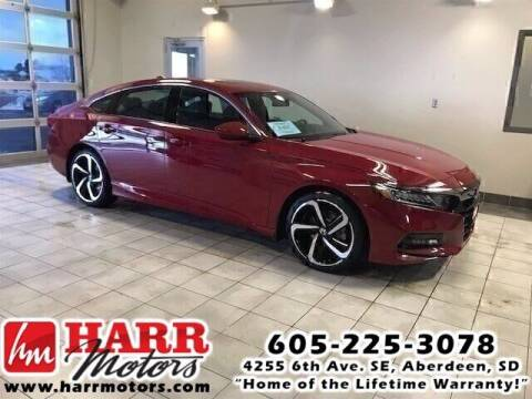 2019 Honda Accord for sale at Harr's Redfield Ford in Redfield SD