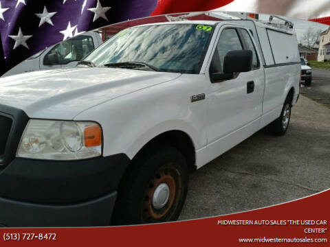 """2007 Ford F-150 for sale at MIDWESTERN AUTO SALES        """"The Used Car Center"""" in Middletown OH"""