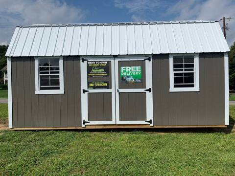 2020 Premier 10x20 Side Lofted Barn for sale at M&L Auto, LLC in Clyde NC
