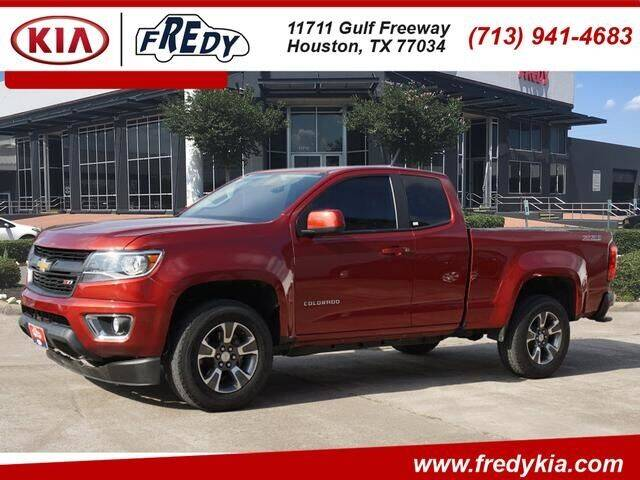 2016 Chevrolet Colorado for sale at FREDY USED CAR SALES in Houston TX