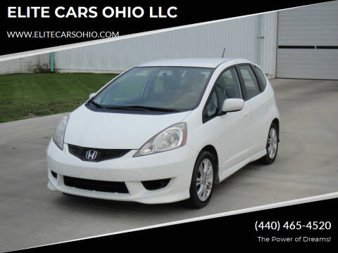 2010 Honda Fit for sale at ELITE CARS OHIO LLC in Solon OH