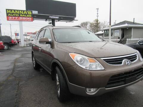 2012 Hyundai Veracruz for sale at Hanna's Auto Sales in Indianapolis IN