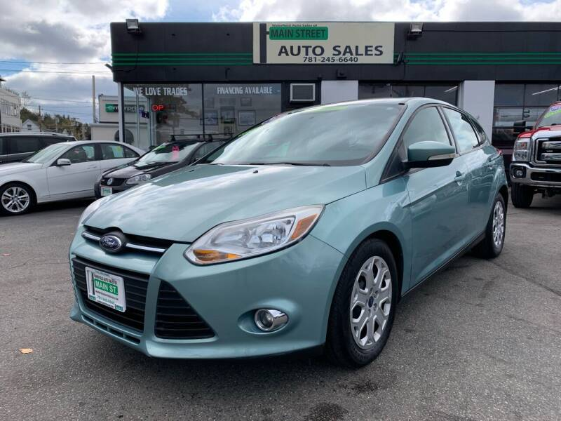 2012 Ford Focus for sale at Wakefield Auto Sales of Main Street Inc. in Wakefield MA