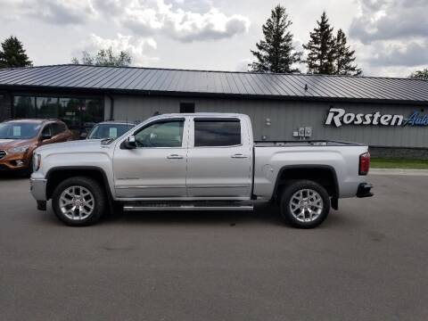 2016 GMC Sierra 1500 for sale at ROSSTEN AUTO SALES in Grand Forks ND