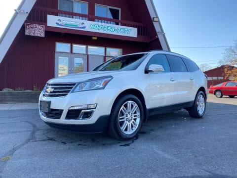 2015 Chevrolet Traverse for sale at Pop's Automotive in Homer NY