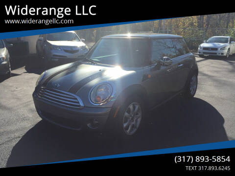 2010 MINI Cooper for sale at Widerange LLC in Greenwood IN