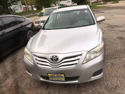 2011 Toyota Camry for sale at Worldwide Auto Sales in Fall River MA