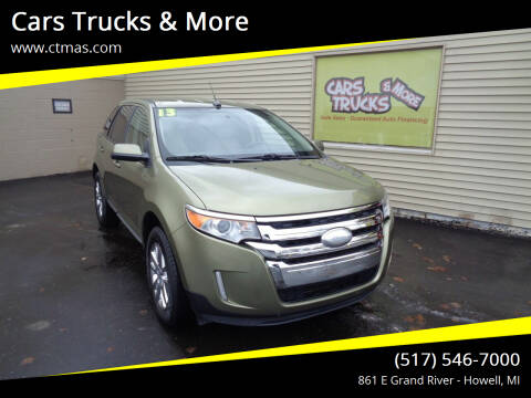 2013 Ford Edge for sale at Cars Trucks & More in Howell MI