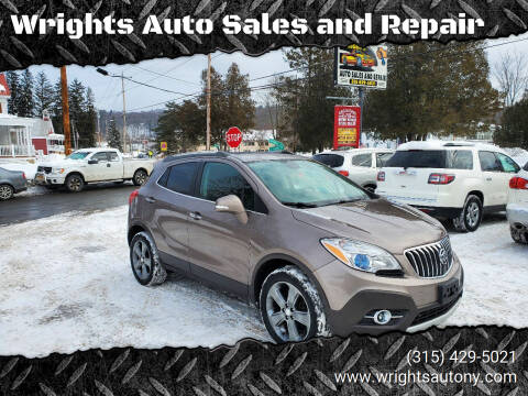 2014 Buick Encore for sale at Wrights Auto Sales and Repair in Dolgeville NY