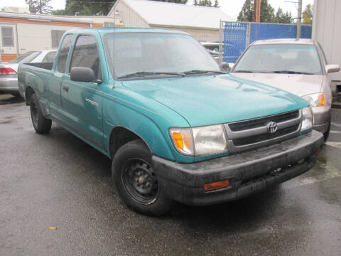 1998 Toyota Tacoma for sale at All About Cars in Marysville WA