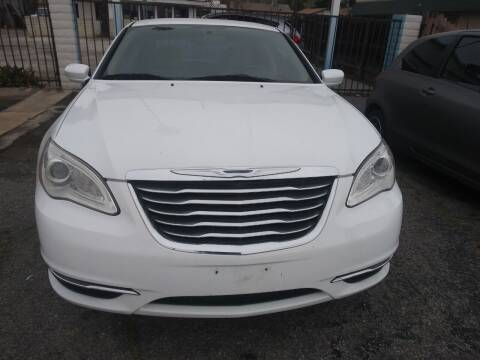 2013 Chrysler 200 for sale at AJ'S Auto Sale Inc in San Bernardino CA